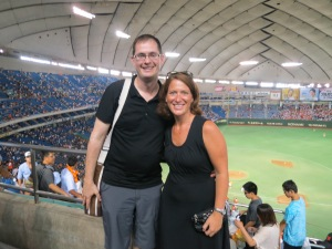 Brooke and Phil at Tokyo Dome!