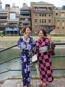 Kimonos in Kyoto!