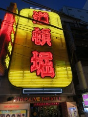 Neon Tokyo at Night