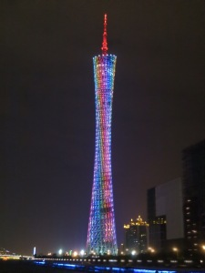 The Stunning Guangzhou Tower!