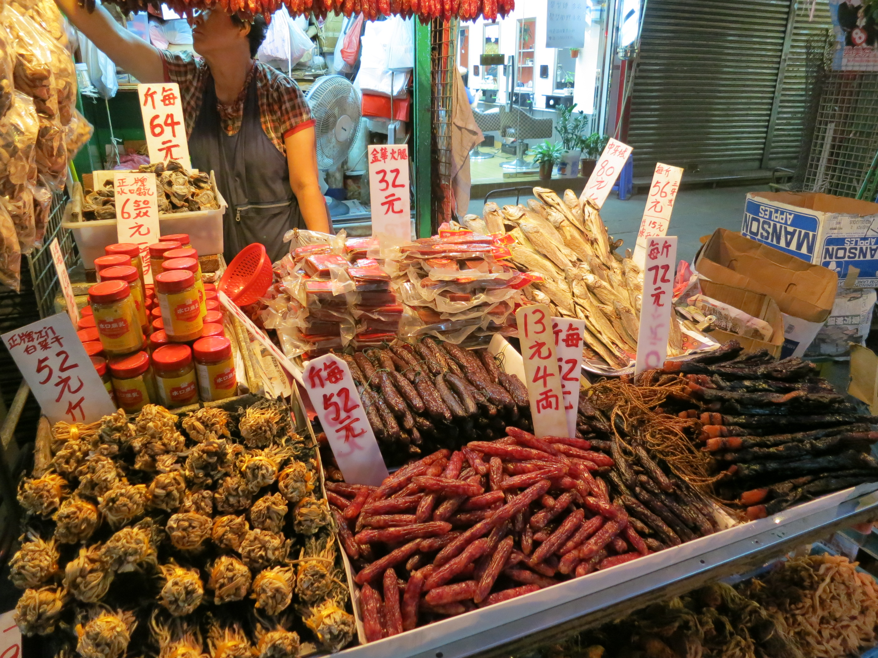 Food market trend in hk