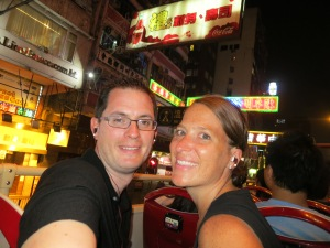 Hong Kong Big Bus tour