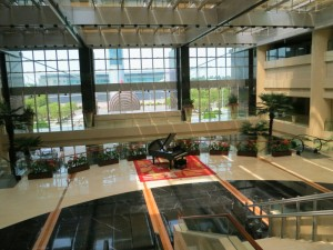 Pullman Guangzhou Hotel Lobby