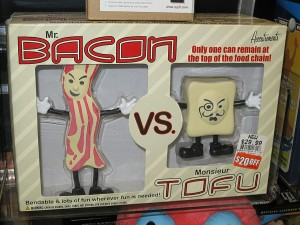 Bacon Vs Tofu