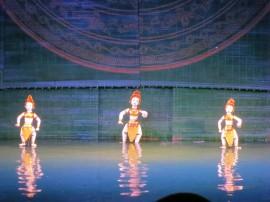 Vietnamese Water Puppets!