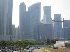 The 2012 Singapore Skyline!