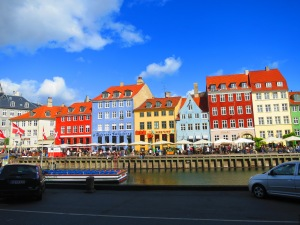 Colorful Buildings along the canal