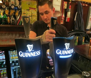 Bartender at Work!