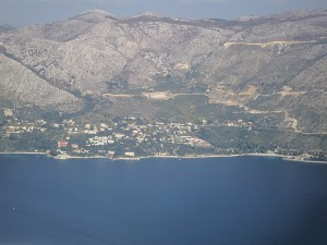 Dubrovnik by air