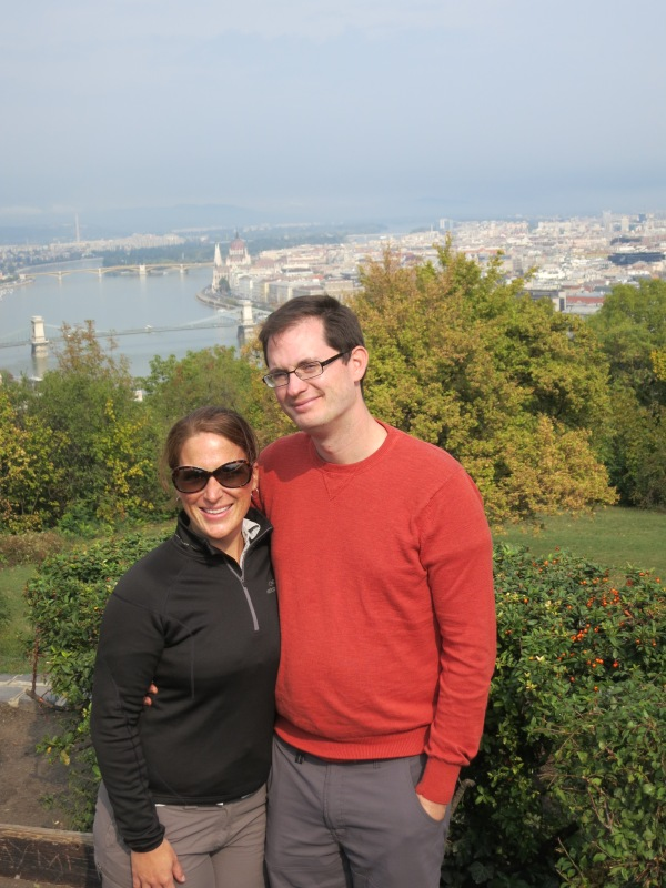 Stunning hilltop in budapest