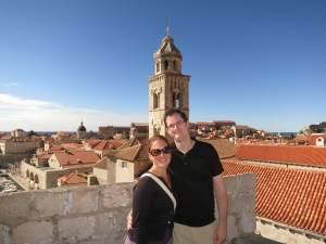 Walking along the best part of Dubrovnik