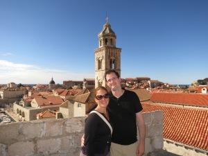 Walking along the best part of Dubrovnik