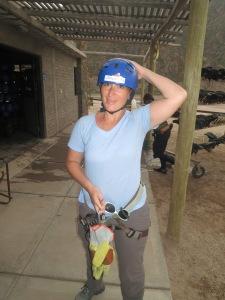 Zip Lining or Hail Protection Gear?
